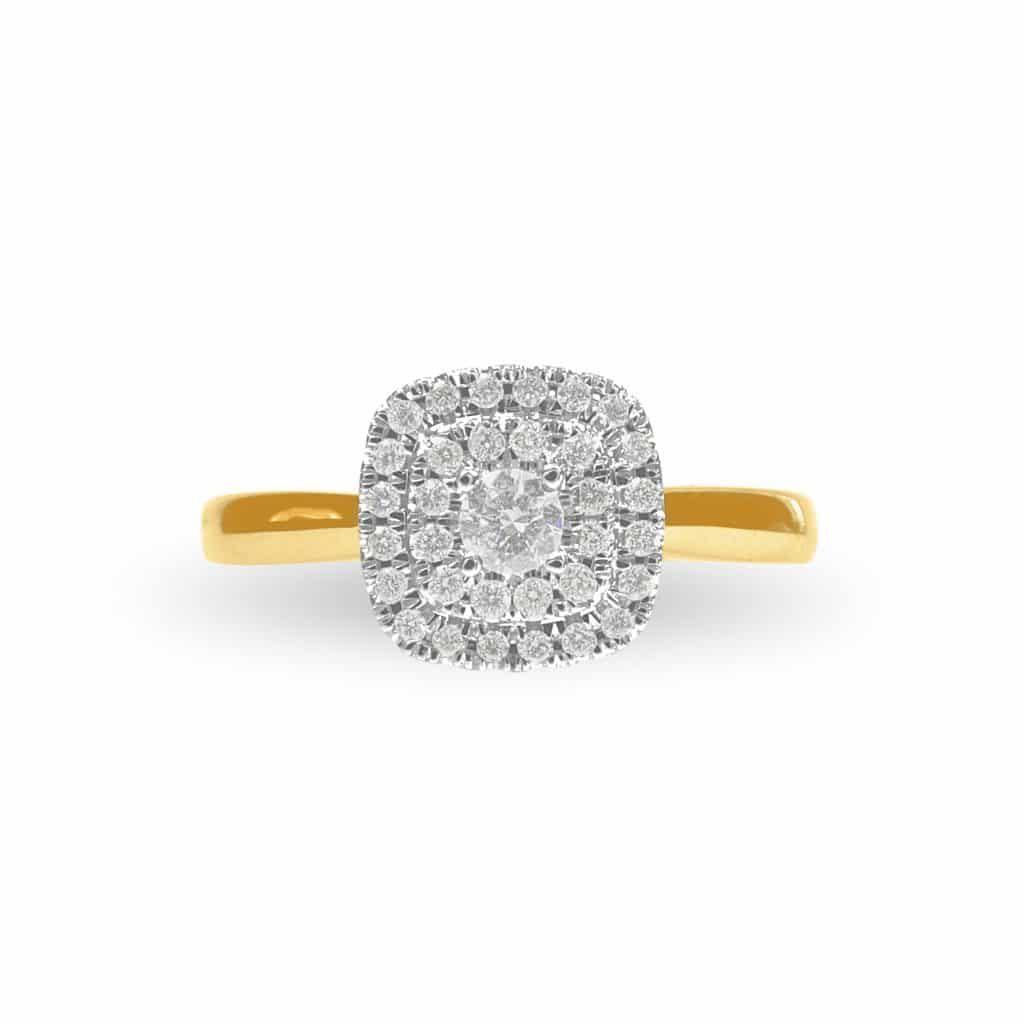 9ct Diamond Ring