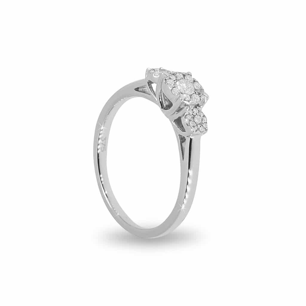 9ct Diamond Ring