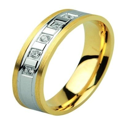 Gold Fancy Hollow Ring