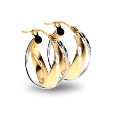 Two Tone Earrings
