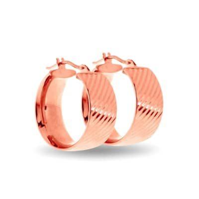 Rose Gold Earrings DUP