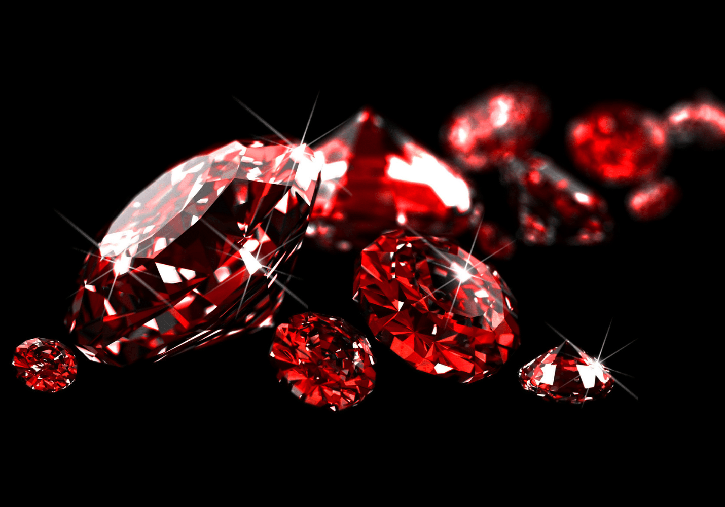 JANUARY BIRTHSTONE - THE RED GARNET