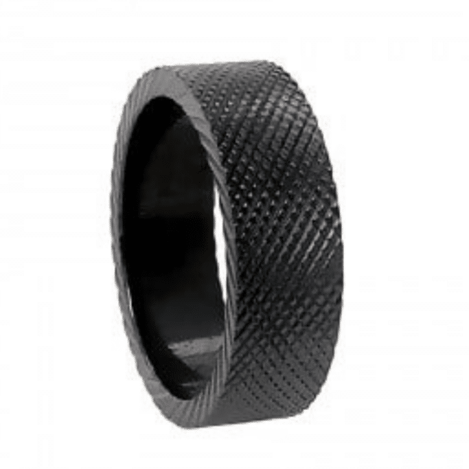 BLACK ZIRCONIUM WEDDING BANDS